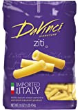 DaVinci Pasta Short Cuts, Cut Ziti, 16 Ounce Bags (Pack of 12)