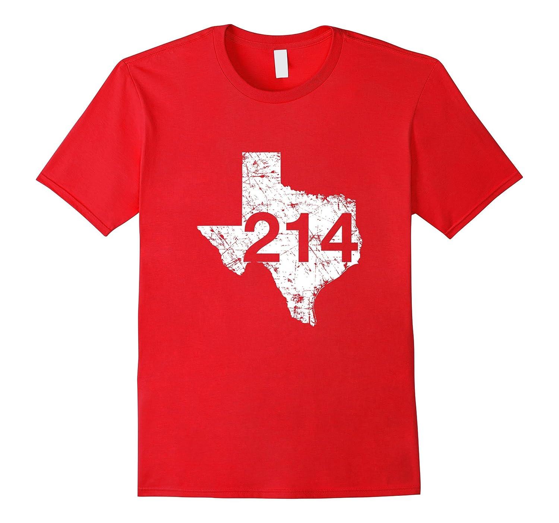 Dallas Plano Area Code 214 Shirt Texas Souvenir Gift-PL