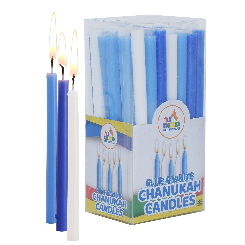 Hanukkah candele (44, Bianco) Ner Mitzvah 28320