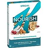 Kellogg's Special K Nourish Coconut, Cranberries and Almonds, Cereal 396 Gram, Cranberries and Almonds, 396 Grams