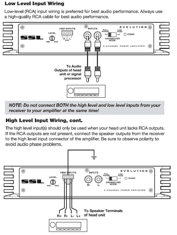 Sound Storm Ev2002 Evolution 200 Watt Full Range Class A B 2 To 8 Ihi Wiring Schematic Ohm Stable Channel Amplifier Car Motorbike