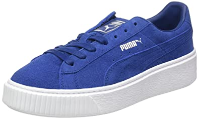 2644f3a3ceed Puma Suede Platform, Sneakers Basses Femme: Amazon.fr: Chaussures et ...