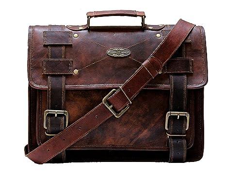 739408a98d Handmade _ World borsa borse per unisex, da uomo tracolla in pelle anticata  Best computer