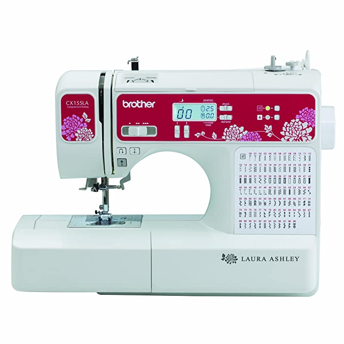 Best Beginner Quilting Sewing Machine: Brother Laura Ashley CX155LA