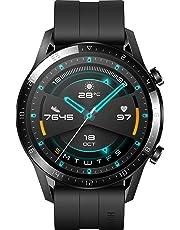 HUAWEI Watch GT 2 Smartwatch (46mm, OLED Touch-Display, Fitness Uhr mit Herzfrequenz-Messung, Musik Wiedergabe & Bluetooth Telefonie, 5ATM wasserdicht) matte black