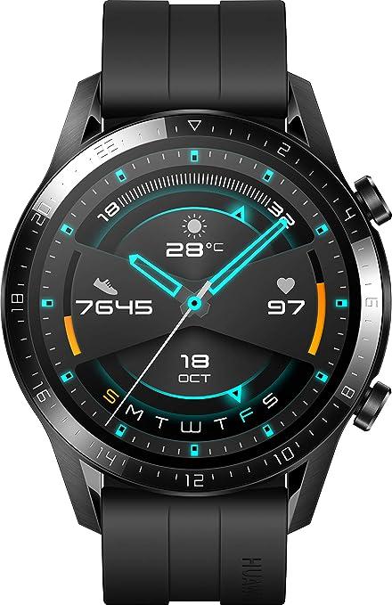 Huawei Watch GT 2 - Reloj de pulsera, color negro mate ...