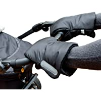Biddy Manoplas para carro de bebé I guantes para sillas de paseo - extra cálidas,
