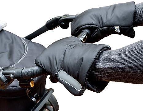 Biddy Manoplas para carro de bebé I guantes para sillas de paseo - extra cálidas, impermeables, transpirables