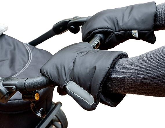 Biddy Manoplas para carro de bebé I guantes para sillas de paseo - extra cálidas, impermeables, transpirables: Amazon.es: Bebé