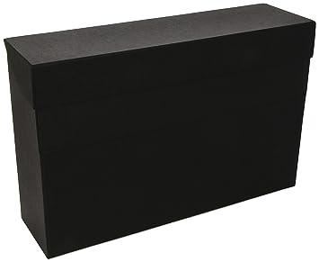 Mariola 16854 - Caja transferencia formato folio, color negro: Amazon.es: Oficina y papelería