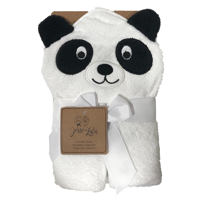 Amazon.com : Baby Hooded Towel | Unisex Boys & Girls | Infant Toddler Newborn | Panda Hood | for Use at Bath Pool & Beach : Baby