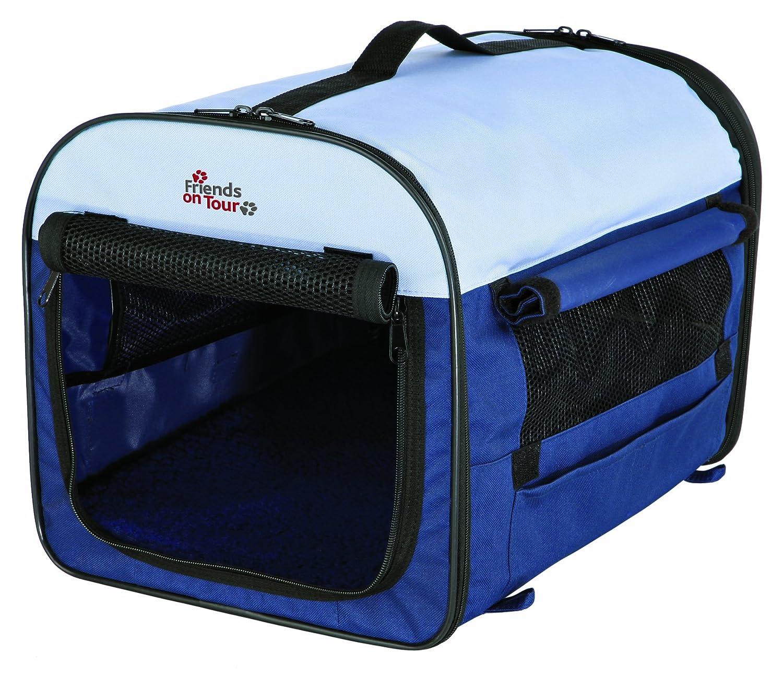 Trixie Caseta Desmontable 3, 50x50x60 cm, Azul osc./Beige: Amazon.es: Productos para mascotas