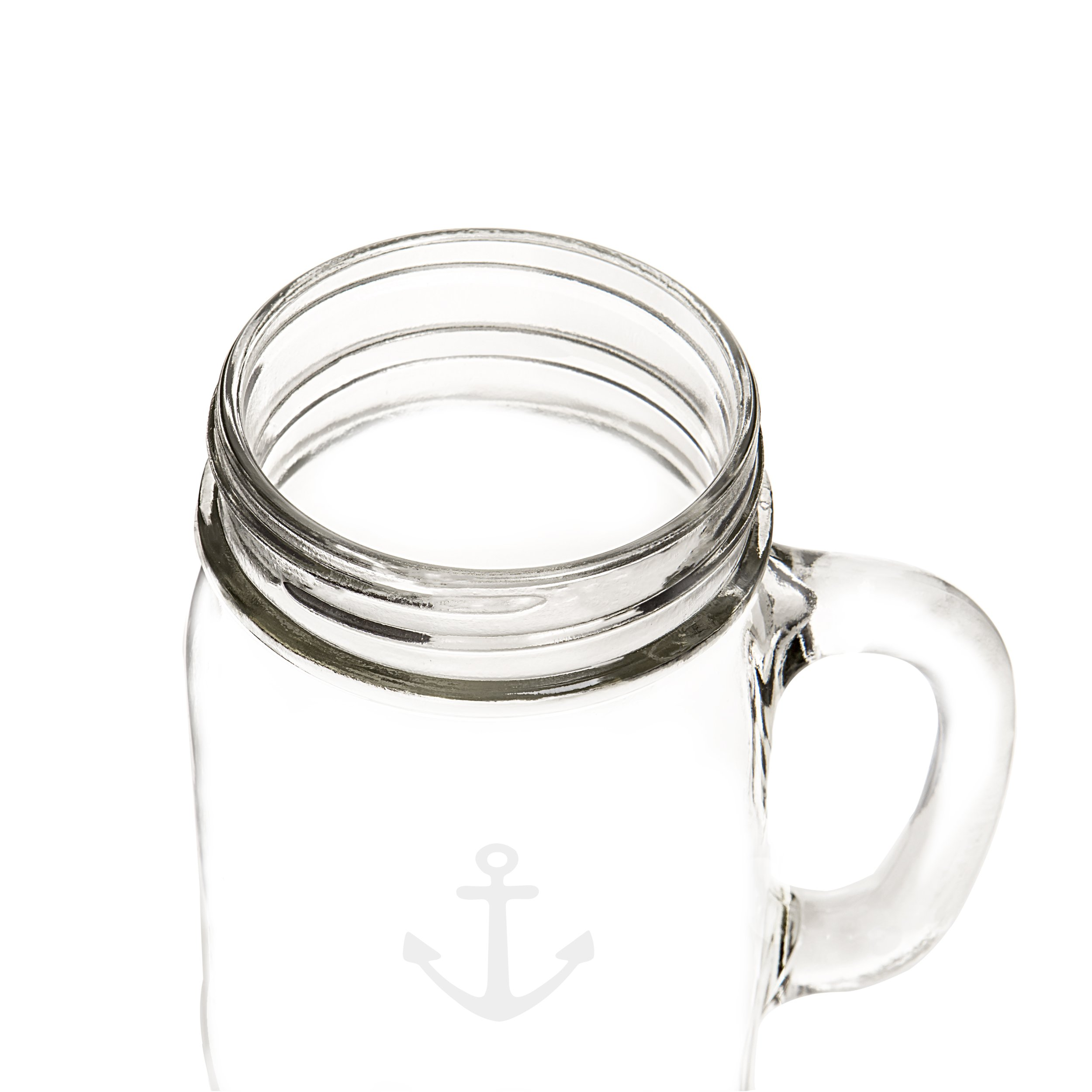 Cathy's Concepts CCA1190 Anchor Old Fashioned Drinking Jars Set Of 4 by Cathy's Concepts (Image #16)