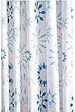 Croydex Kaleidoscope Textile Shower Curtain, Multi-Colour, 1800 x 1800 mm