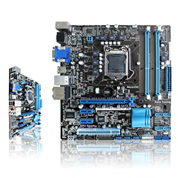 Amazon.com: Para Asus P8H61-M Pro/CM6630/DP _ MB Intel 61 ...