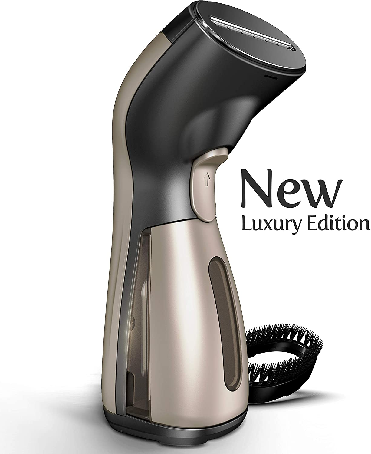 Steamer for Clothes [Luxury Edition] Powerful Dry Steam. Multi-Task: Fabric Wrinkle Remover- Clean- Refresh. Handheld Clothing Accessory. for All Kind of Garments. Home/Travel