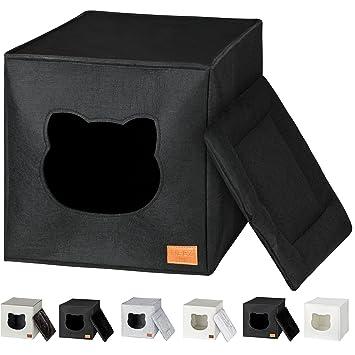 Neez Cuccia Per Gatti Per Ripiano Per Scaffale Ikea Kallax Black