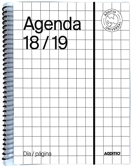 Additio A142-DP- Agenda Universal día página 2018-19, color ...