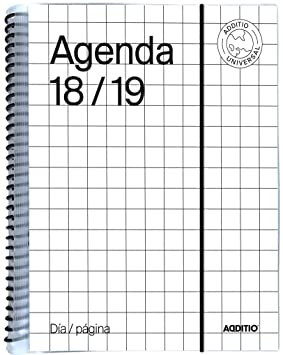 Amazon.com : additio a142-dp - Agenda Universal 2018 - 19 ...