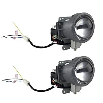 Amazon.com: gallight Proyector LED Faros delanteros Angel ...