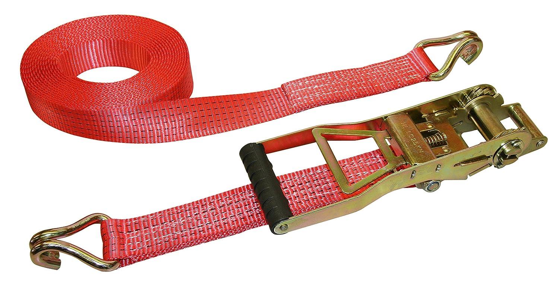 Kerbl 37173 Ergo Sangle en 2 parties Charge max. 2500-5000 kg Rouge 8 m x 50 mm