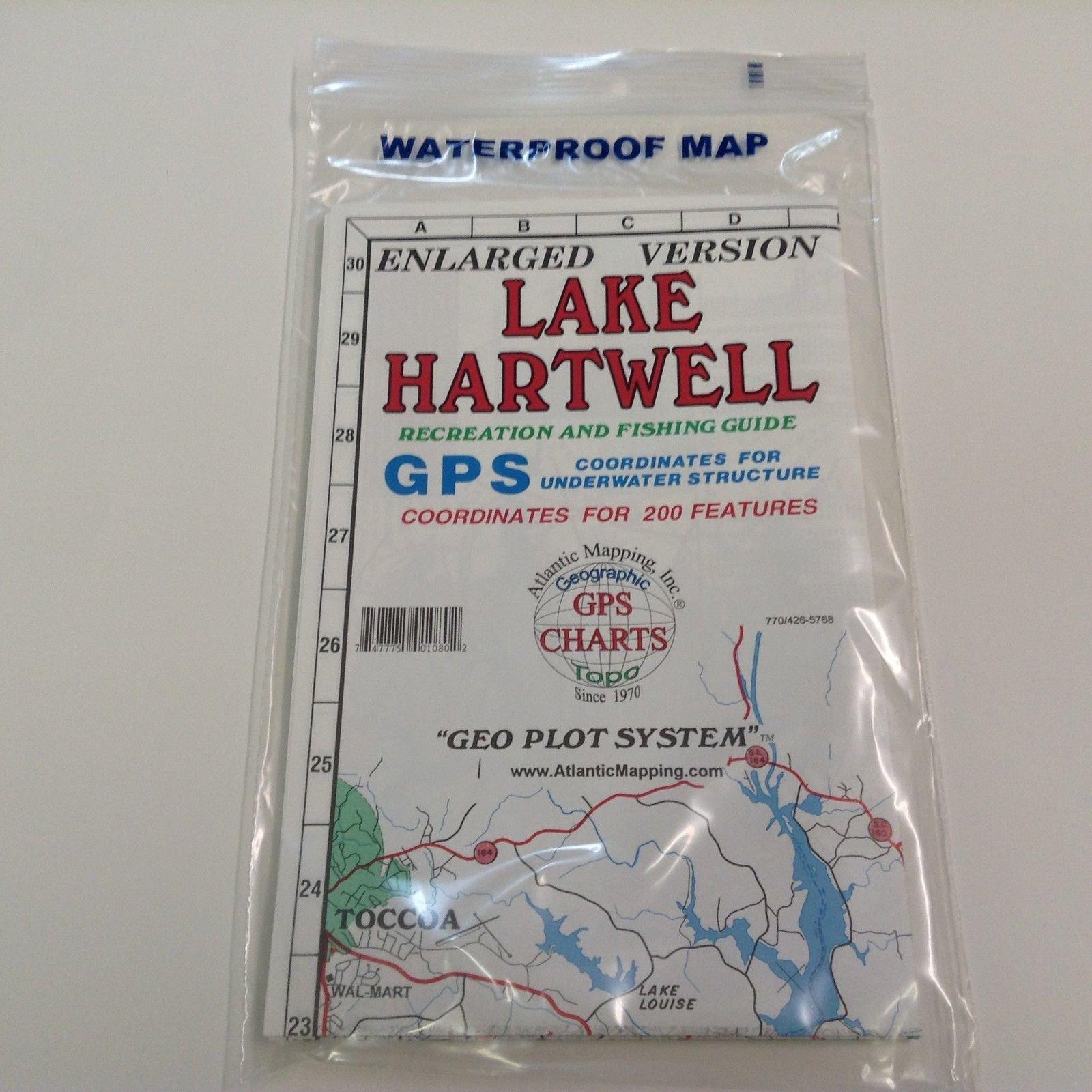 Atlantic Mapping Lake Hartwell
