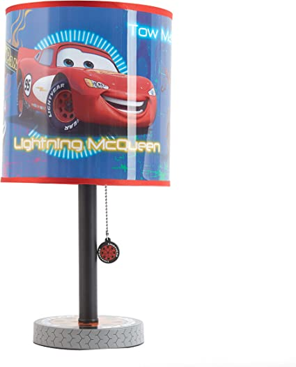 Cars Lightning Mcqueen Boy Baby Children Nursery Table Lamp Night Light Tou