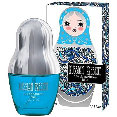 RUSSIAN PRESENT Eau de Parfume Blue 35 ml