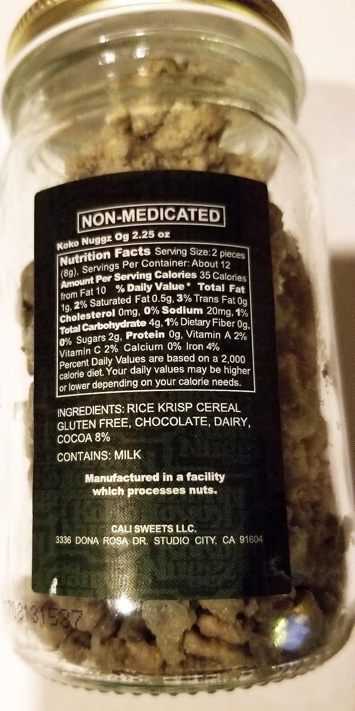 Koko Nuggz OG Flavor Chocolate Non Medicated (2 25 oz) (64 G)