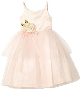 282c96b4bd23 Amazon.com: Us Angels Little Girls' Ballerina-Inspired Dress: Special  Occasion Dresses: Clothing