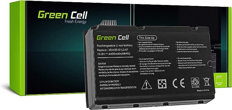 6 Celdas 4400mAh 11.1V Negro Green Cell/® Standard Serie 3S4400-S1S5-05 Bater/ía para Fujitsu-Siemens Amilo Pi2450 Pi2530 Pi2540 Pi2550 Xi2428 Xi2528 Ordenador