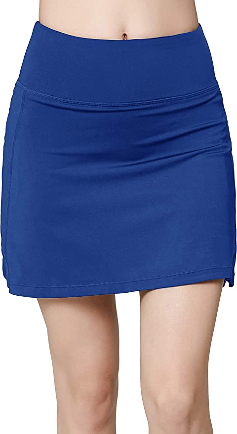 Women's Active Athletic Skirt Sports Golf Tennis Running Pockets Skort