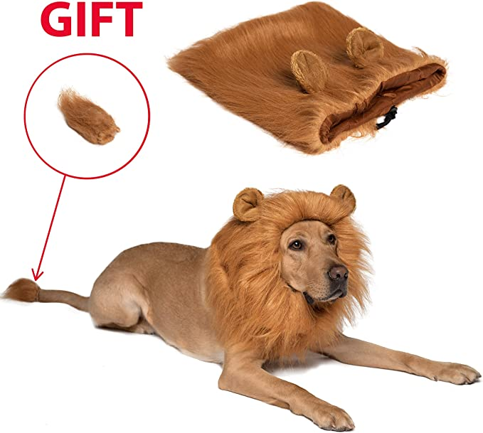 Lion Tail Animal Tail Fancy Dress Lion Costume Luxury Faux