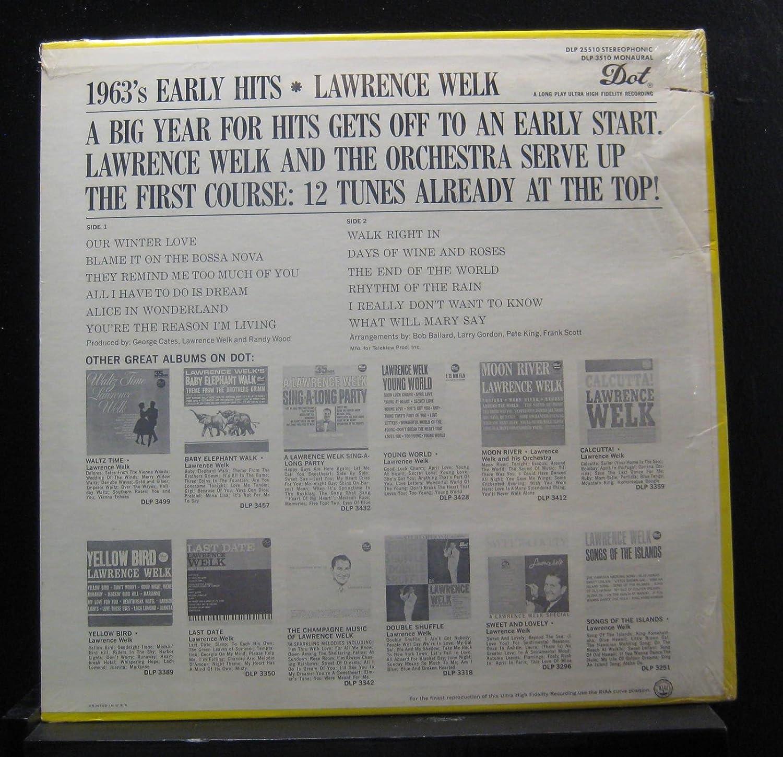 Lawrence Welk - Lawrence Welk - 1963's Early Hits - Lp Vinyl
