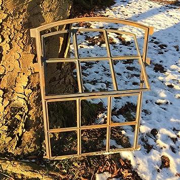ventana abatible circulaci/ón de aire fresco marco Antikas ventana hierro fundido ventana antigua garaje establos