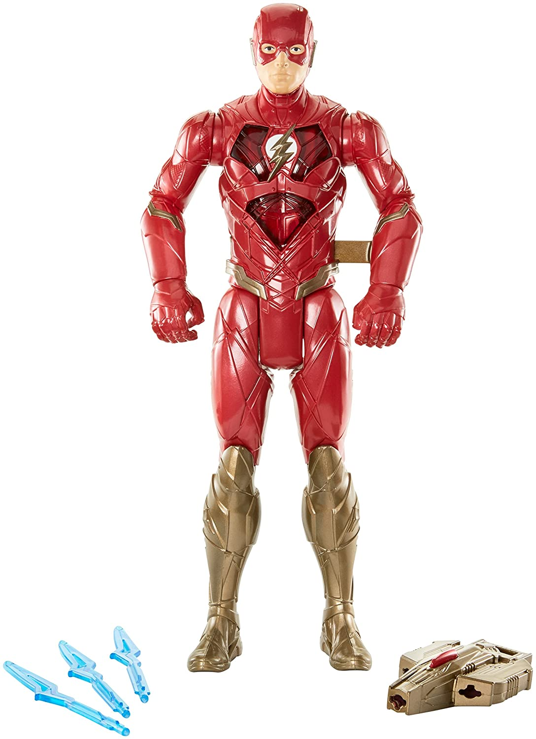 DC Justice League Lightning Sprint The Flash Figure 12 12 Mattel FNP68
