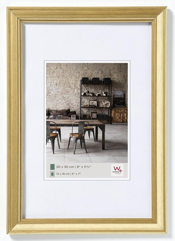 Amazon.de: walther design JA030G Bilderrahmen Lounge, 20 x 30 cm, gold