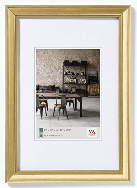 Walther JA050G Picture Frame 40 x 50 cm gold: Amazon.co.uk: Kitchen ...