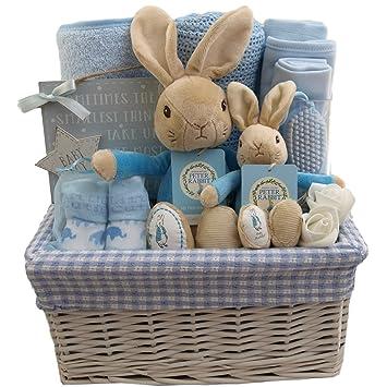 596106d0994d Baby boy Gift Basket Baby boy Gift Hamper Peter Rabbit boy Baby ...