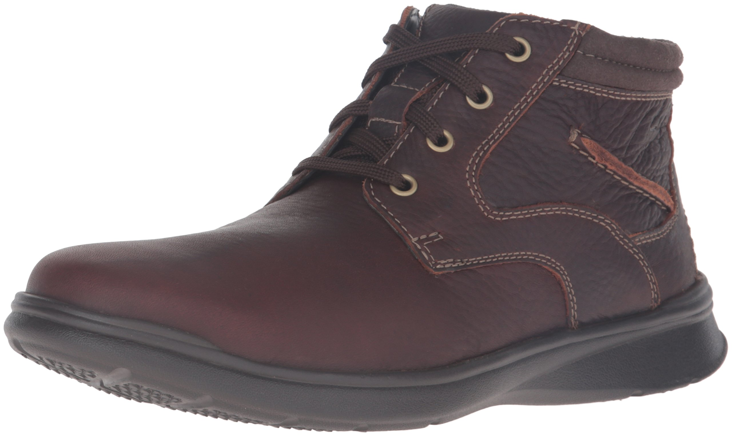 CLARKS Men's Cotrell Rise Chukka Boot, Brown Oily, 11.5 M US