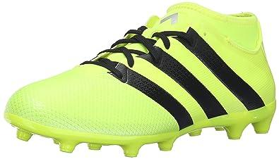 adidas Performance Men\u0027s Ace 16.3 Primemesh FG/AG Soccer Shoe, Solar Yellow /Black
