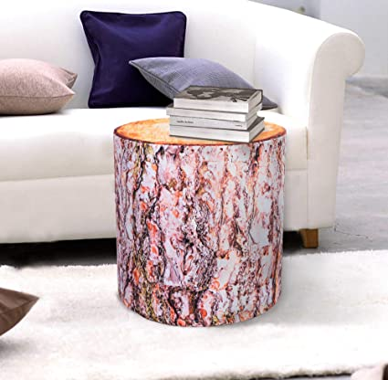 Groovy Amazon Com Pscube Red Pine Oak Log Tree Stump Pouf End Home Interior And Landscaping Ymoonbapapsignezvosmurscom