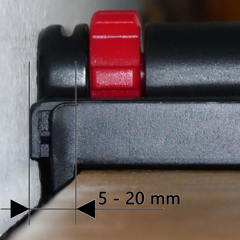 kippende Montagekeile//Holzkeile Der einstellbare Abstandskeil zur Verlegung von Parkett WeLiQu Abstandhalter 5-20mm Nie mehr verrutschende Laminat und Vinyl 6 St/ück