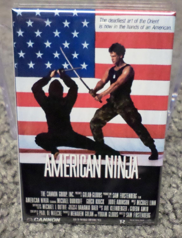 Amazon.com: American Ninja Movie Poster 2