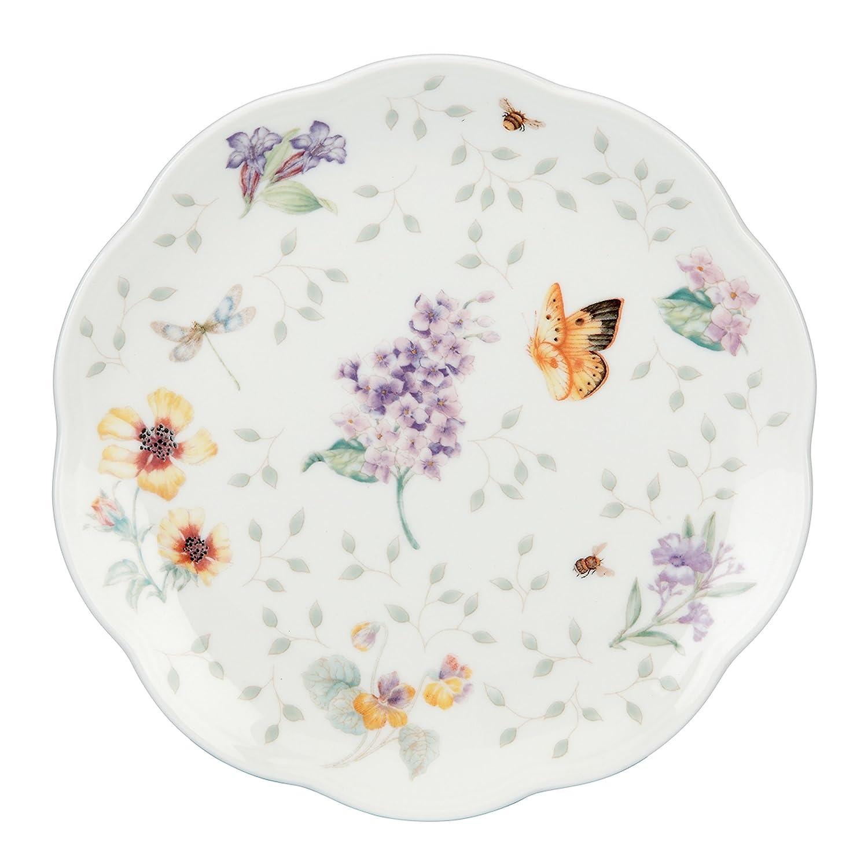 Amazon lenox butterfly meadow dessert plates 8 inch assorted amazon lenox butterfly meadow dessert plates 8 inch assorted colors set of 4 kitchen dining stopboris Choice Image