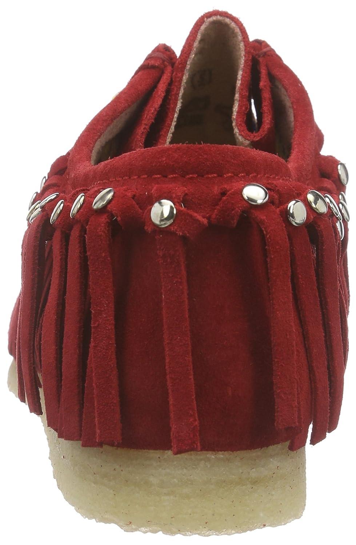 Sioux Grashopper-d-161-03 Damen Mokassin Mokassin Damen Rot (Fire) b9ec15