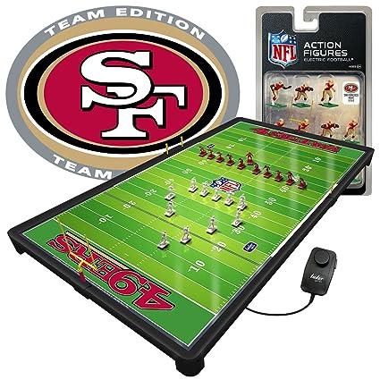 e737cf3c Amazon.com: NFL San Francisco 49ers NFL Pro Bowl Electric Football ...