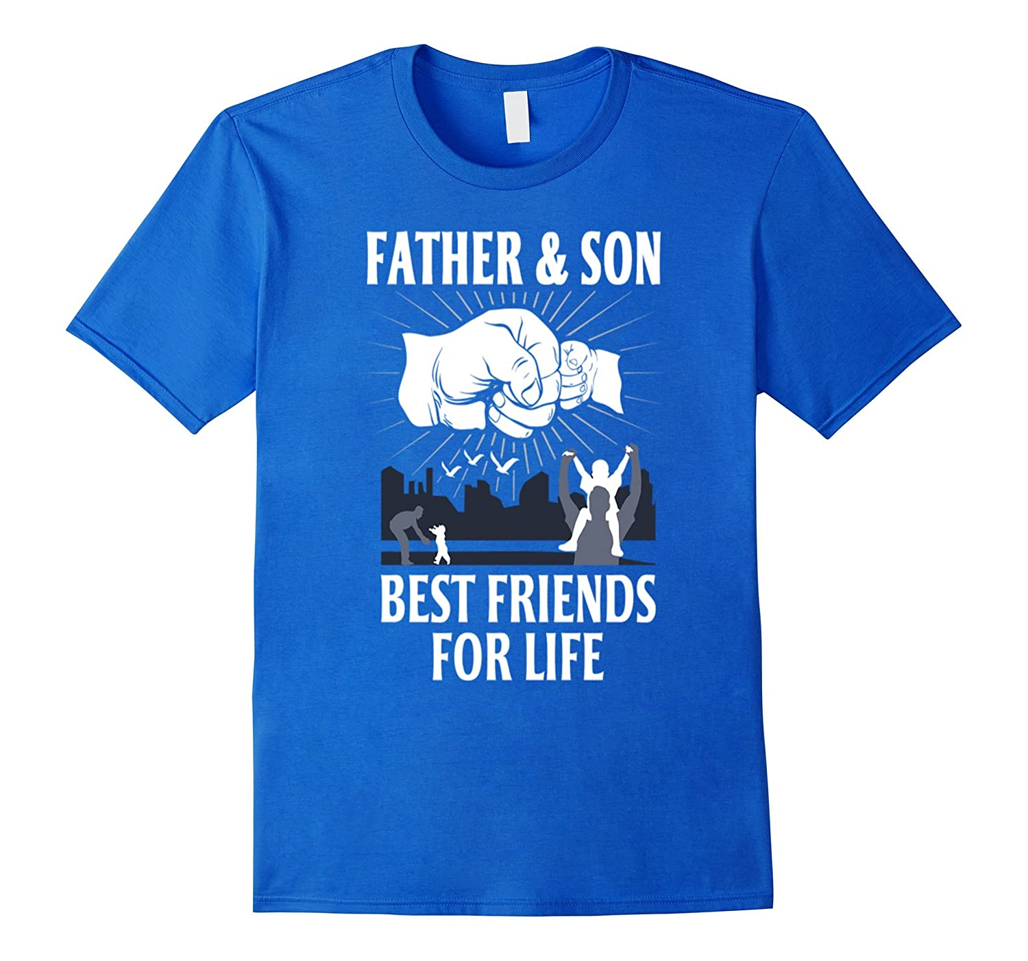 1703c2178 Father and son best friend for life day T-shirt dad present-RT ...