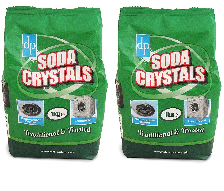 DP DriPak - Cristal de soda, 1 kg: Amazon.es: Hogar