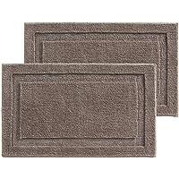 mDesign set de 2 unidades alfombra baño